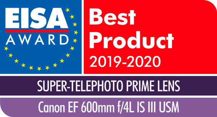 Canon EF 600/4 L IS III USM -objektiv