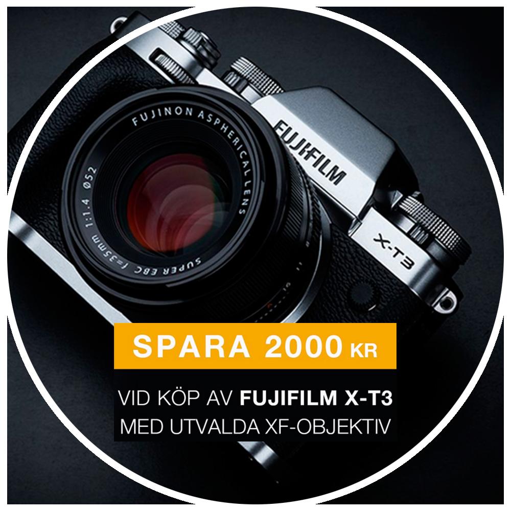 Fujifilm X-T3 + XF 35/2 R WR, silver