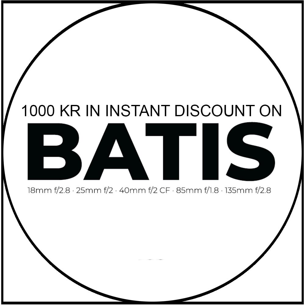Zeiss Batis 85/1.8, Sony FE