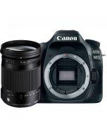 Canon EOS 80D systemkamera + Sigma 18-300/3.5-6.3 C DC OS HSM Macro