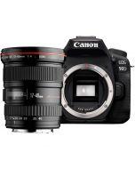 Canon EOS 90D + EF 17-40/4 L USM -systemkamera