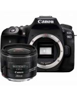 Canon EOS 90D + EF 28/2.8 IS USM -systemkamera
