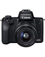 Canon EOS M50 + 15-45mm IS STM -systemkamera, svart