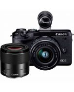 Canon EOS M6 Mark II + 15-45mm IS STM + 32mm f/1.4 STM