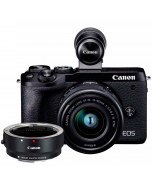 Canon EOS M6 Mark II + 15-45mm IS STM + EF - EOS M Adapter