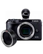 Canon EOS M6 Mark II + EVF-DC2 + EF - EOS M Adapter