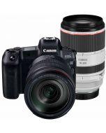 Canon EOS R + RF 24-105/4 L IS USM + RF 70-200/2.8 L IS USM