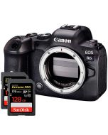 Canon EOS R6 + 2 x SanDisk SDXC Extreme Pro V30 128GB 170MB/s