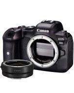 Canon EOS R6 + EF - EOS R -adapter