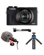 Canon PowerShot G7 X Mark III Video Kit, svart