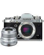 Fujifilm X-T3 + XF 23/2 R WR, silver
