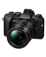 Olympus OM-D E-M5 Mark III + 12-40/2.8 ED Pro, svart