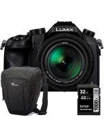 Panasonic Lumix DMC-FZ1000 + Lowepro Toploader Zoom 50 AW II + Lexar 32GB SDHC Professional 1000X UHS-II