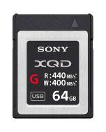 Sony 64GB XQD 440MB/s G-seriens minneskort