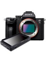 "Sony A7 Mark III + FeelWorld F5 5"" Full HD -monitor"