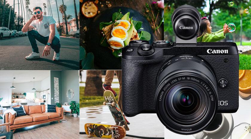 Canon EOS M6 Mark II - Utformad för kreativitet